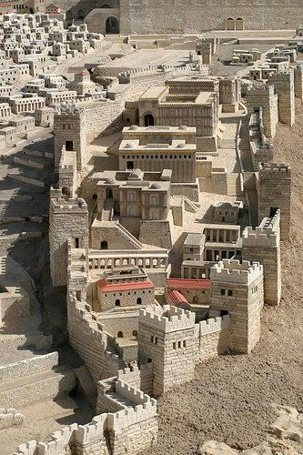 An imagination of the ancient City of David