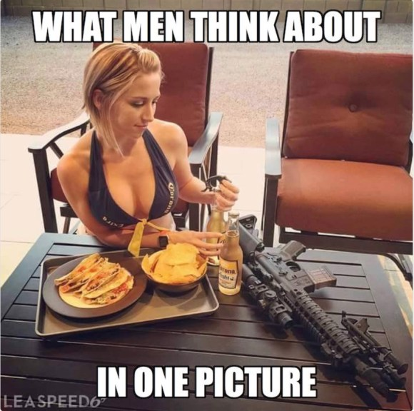 What Men Think About