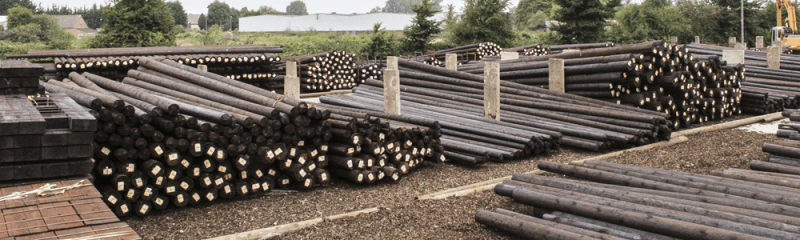 wood pole supply