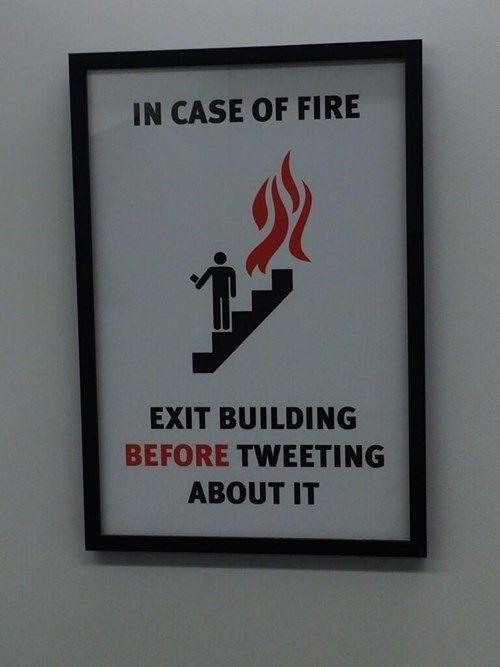 Fire Tweet