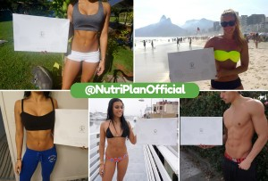 NutriPlan Customer Collage