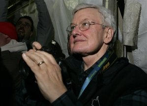 Ebert at the Sundance Film Festival in 2006  (AP Photo/Carolyn Kaster)