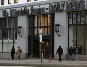 The Philadelphia Inquirer and Daily News building is seen in Philadelphia, Tuesday, Jan. 2, 2007. (AP Photo/Matt Rourke)