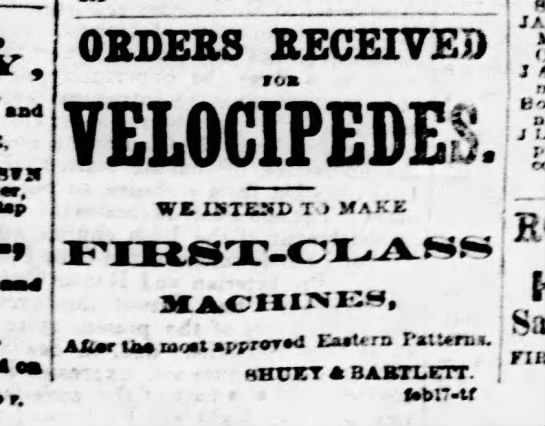 An ad from Feb. 20, 1869.