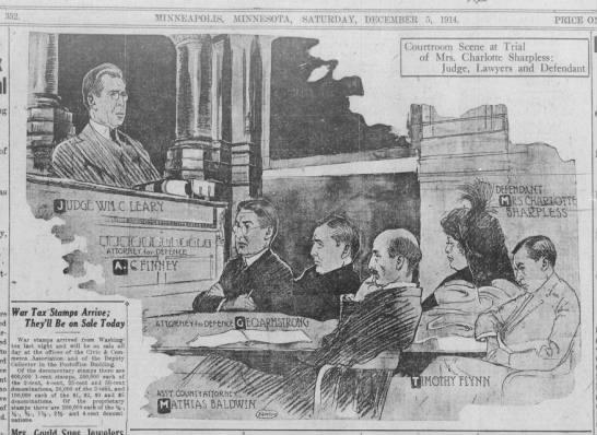 From The Minneapolis Morning Tribune, Dec. 5, 1914.