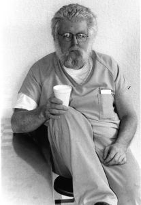 The publisher of the Sacramento Valley Mirror in jail in 2000. (Tim Crews)