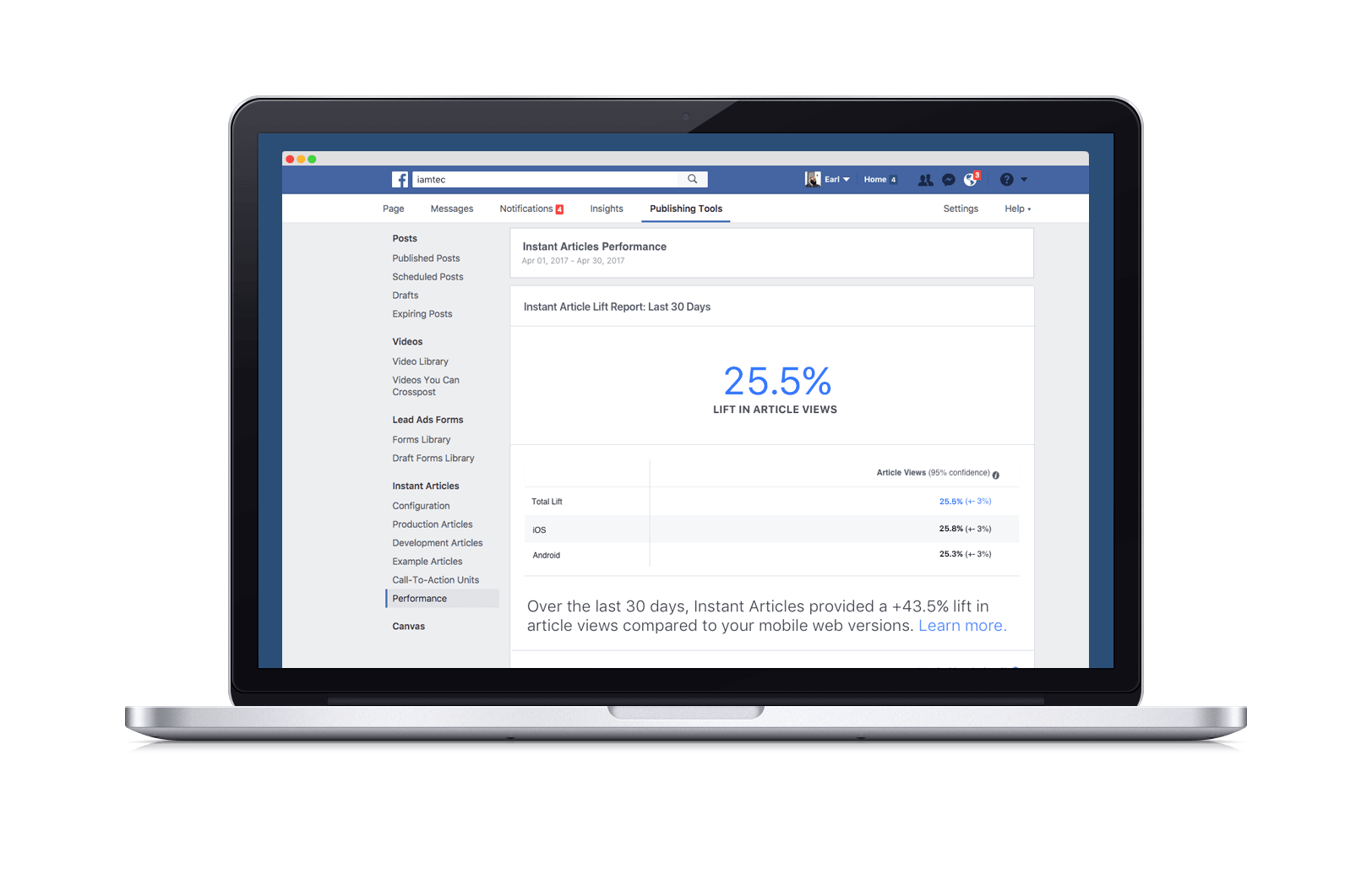poynter.org - This new Facebook analytics tool lets publishers compare their mobile and Instant Articles traffic