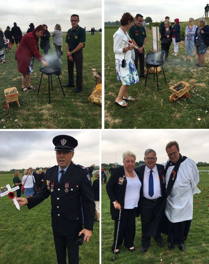Inauguration of the Pozieres Memorial Park 3