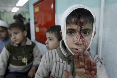 Bombardeos israelíes sobre Gaza dejan 25 muertos y 70 heridos