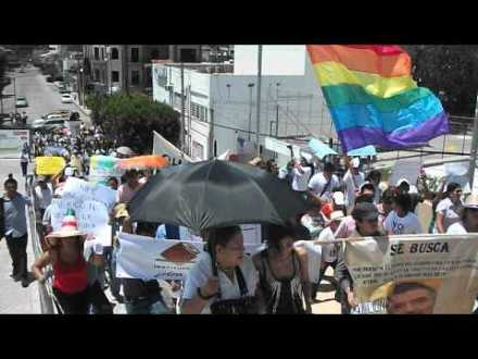 Mega Marcha Nacional Anti-imposición en Tuxtla Gutiérrez Julio 22