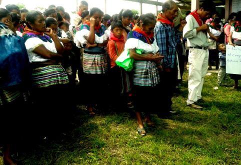 """""""Vamos a seguir luchando porque no queda de otra"""", indígenas de Bachajón Chiapas, presos políticos."""