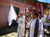 En Simojovel Chiapas, líderes priistas amenazan al párroco Marcelo Pérez y catequistas que denuncian la corrupción.