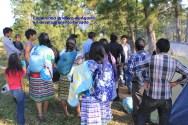 Familias tojolabales en desplazamiento forzado se unen a peregrinación en Las Margaritas