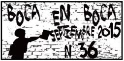 Chiapas: Revista BoCa En BoCa #36. Agosto 2015.