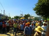"""""""Declaramos nuestros territorios contra la minería e hidroeléctricas"""", campesinos y pescadores de la sierra y costa de Chiapas."""
