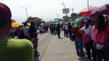 """Nuevamente """"represión sin negociación"""" de Peña y Velasco, hacia maestr@s en huelga en Chiapas."""