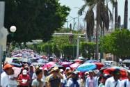 """""""El gobierno responsable de que gasolineras no vendan combustible"""", CNTE Chiapas"""