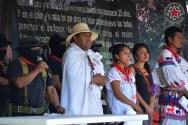 """""""Le decimos al magisterio digno que no está solo"""", EZLN y CNI ante ataque policiaco en Nochixtlán, Oaxaca."""