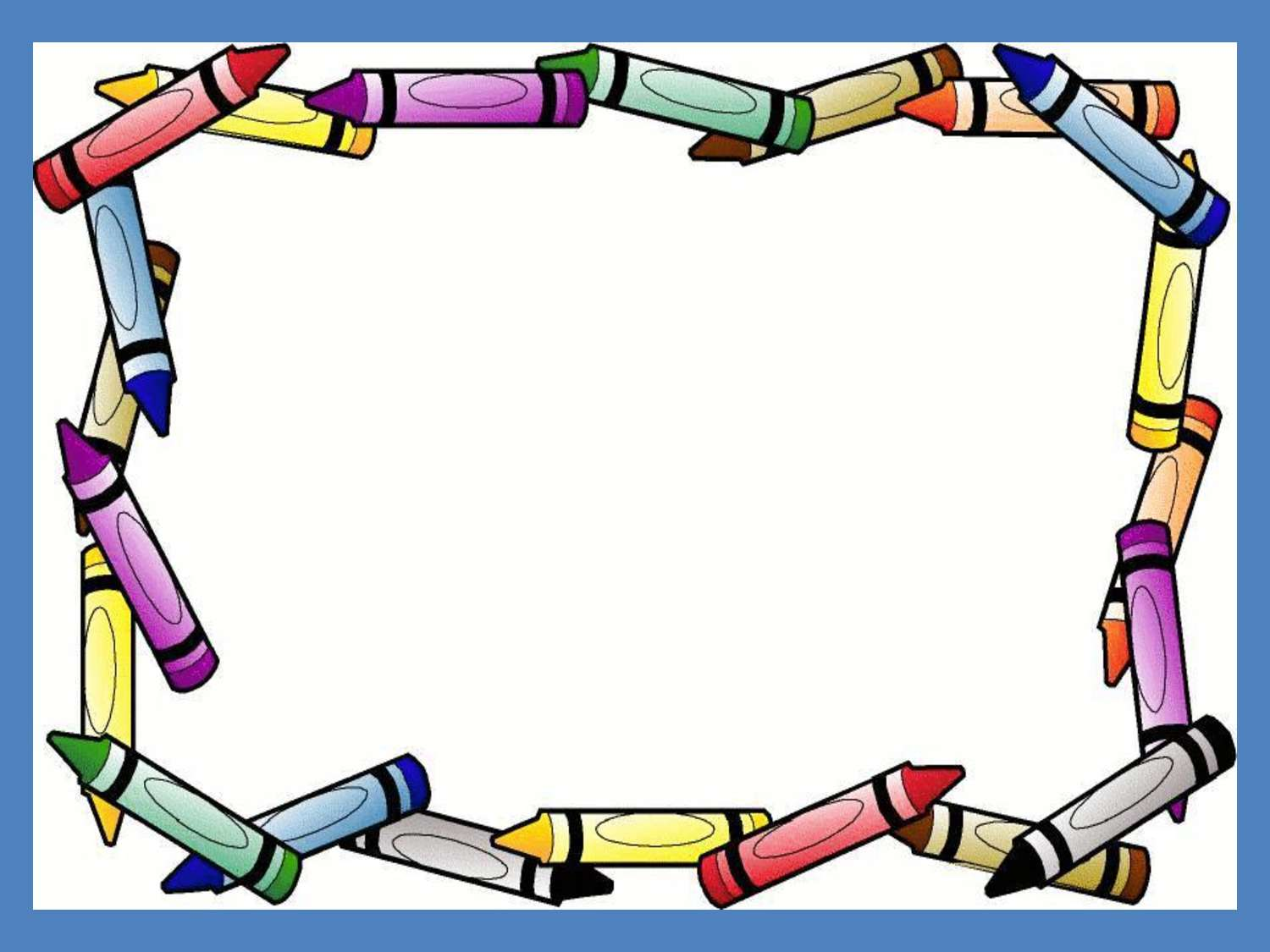 Bingkai Frame Crayon Border Frame Free PPT Backgrounds for your PowerPoint Templates 1500x1125