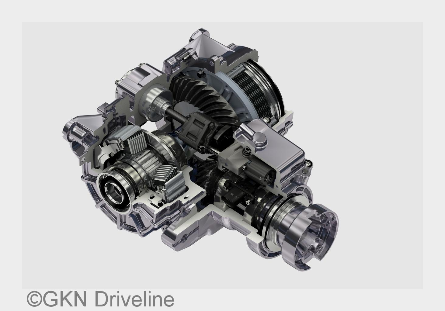 Focus rs innovative all wheel drive system by gkn ford inside news community