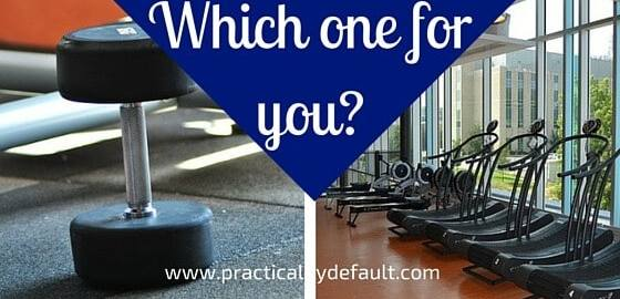 Better for you home gym vs commercial