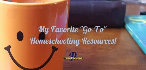Sharing my 3 favorite homeschool resources! Check it out!
