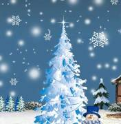 christmas stories. Image of a tree