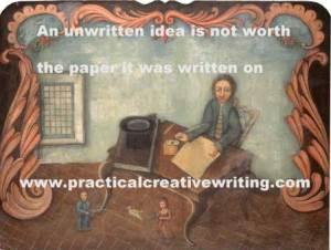 man-at-writing-table
