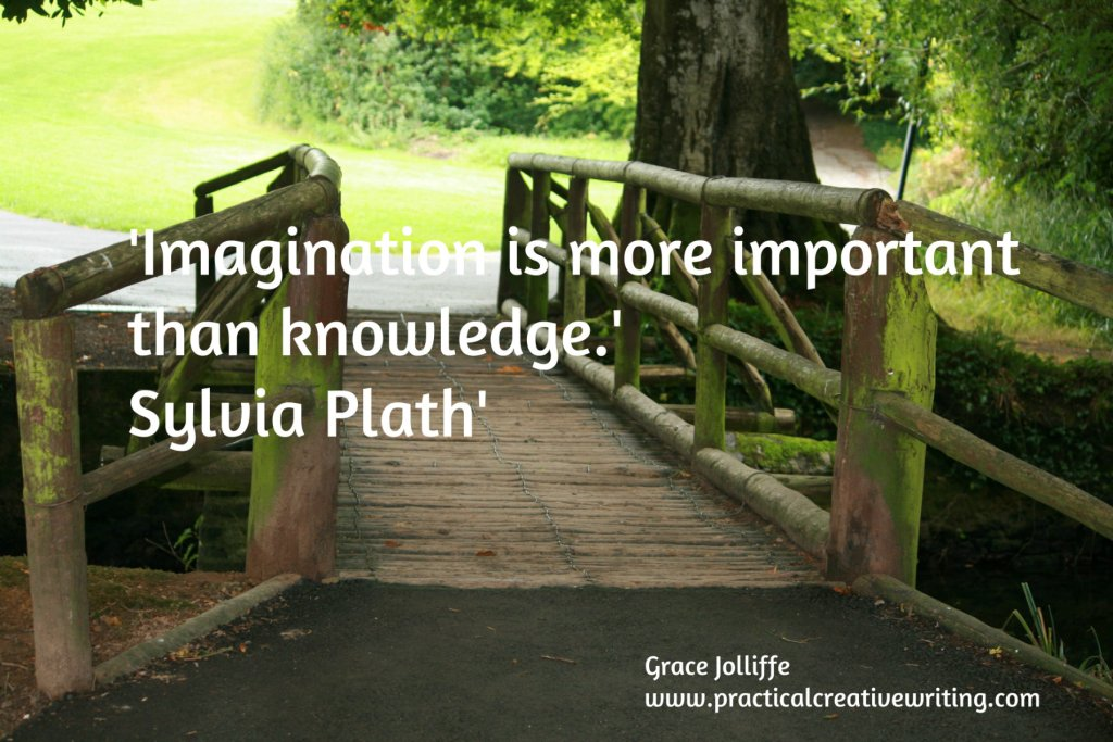 bridge into park illustrating article about creative thinking