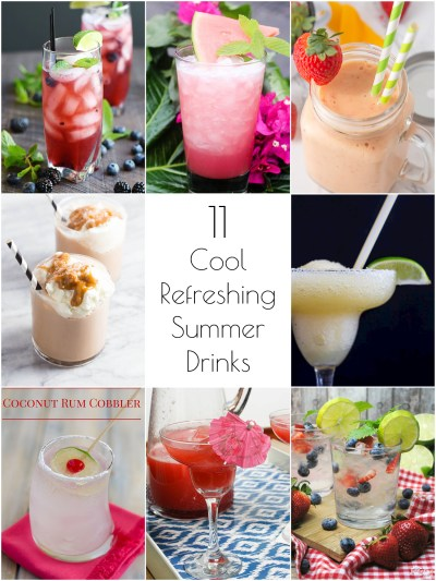 So Creative! - 11 Cool, Refreshing Summer Drink Recipes