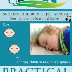 Snoring Children, Sleep Apnoea image