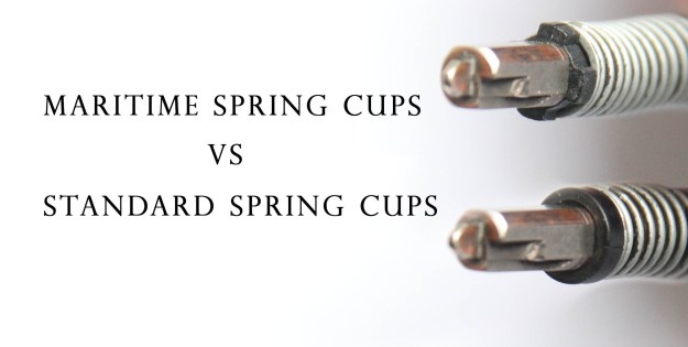 Glock maritime spring cups and standard spring cups