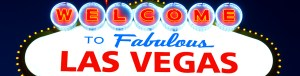 "This is a picture of the famous ""Welcome to Fabulous Las Vegas"" sign."