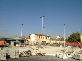 Impianto illuminazione stazione ferroviaria