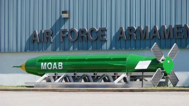 GBU-43 (Mother of all Bomb, Largest Non-Nuclear Bomb)