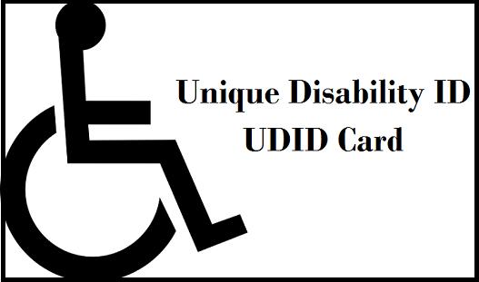 Unique Disability ID UDID