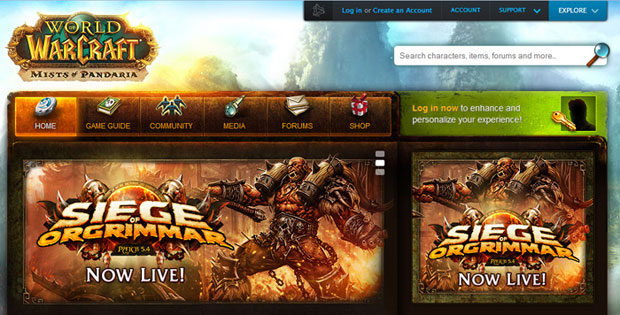 world-of-warcraft-website