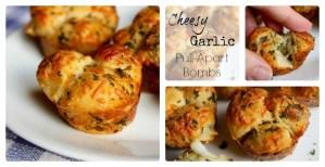 Cheesy Garlic Pull-Apart Bombs