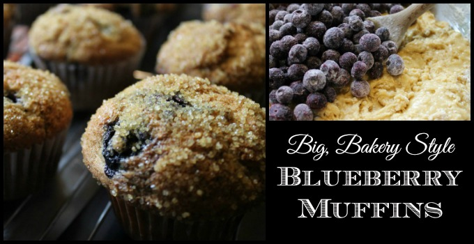 blueberry muffins slider