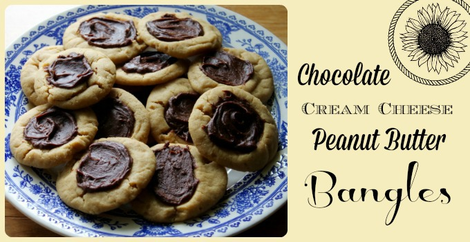 Chocolate Cream Cheese Peanut Butter Bangles