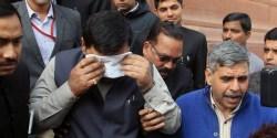 India Parliament Mayhem