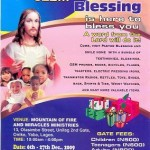 Visit Pastor Blessing This Christmas Season At MFM Headquarters