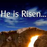My Rabboni! He is RISEN!