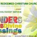 "Announcing JULY 2013 Holy Ghost Service: ""The Wonders of His Divine Blessings"""