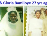Mike and Gloria Bamiloye 27 years ago