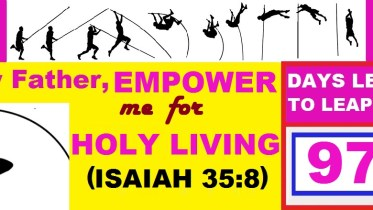 LEAP YEAR 2016 Timeline Prayers - EMPOWER ME FOR HOLY LIVING