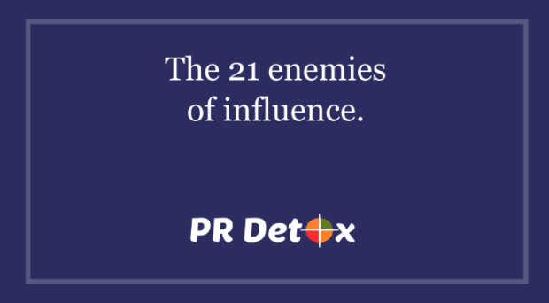 21 enemies of influence