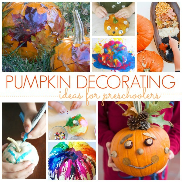 No Carve Pumpkin Decorating Ideas   Pre K Pages No Carve Pumpkin Decorating Ideas