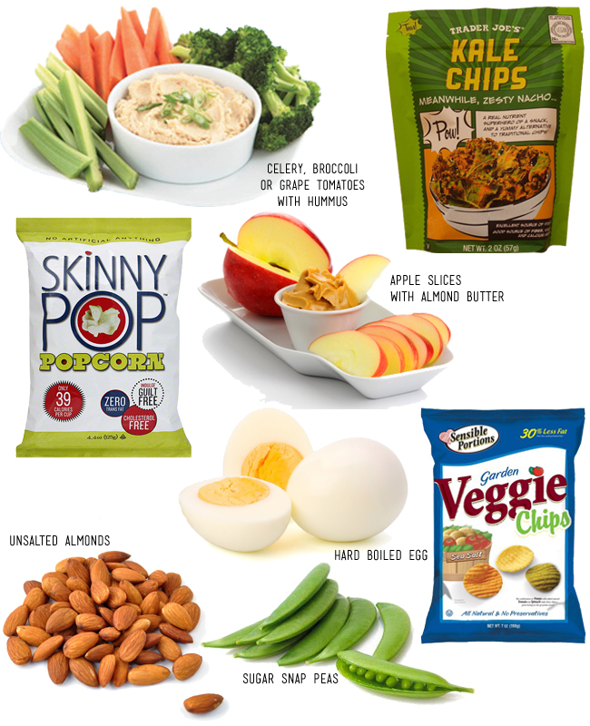 12 healthy snack ideas