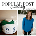 popular post giveaway
